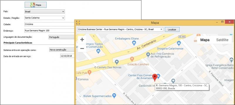 Atualização do Maps