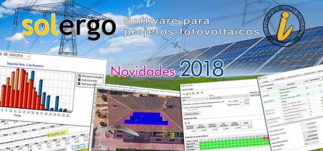Pacote de atualização Arquivos 2018/3 – SOLergo e Ampère
