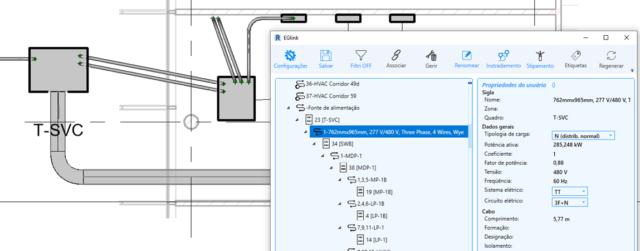 Ampère 2020 – EGlink: projeto elétrico em ambiente BIM