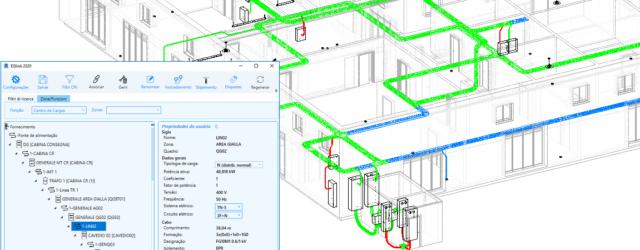 Ampère 2020 – EGlink: roteamento dos cabos elétricos no projeto Revit