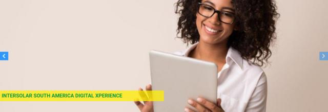 Intersolar South America Digital Xperience – Congresso online 1 de Dezembro de 2020
