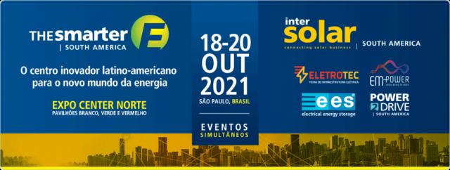 The smarter E South America – Intersolar / ees / Eletrotec+EM-Power